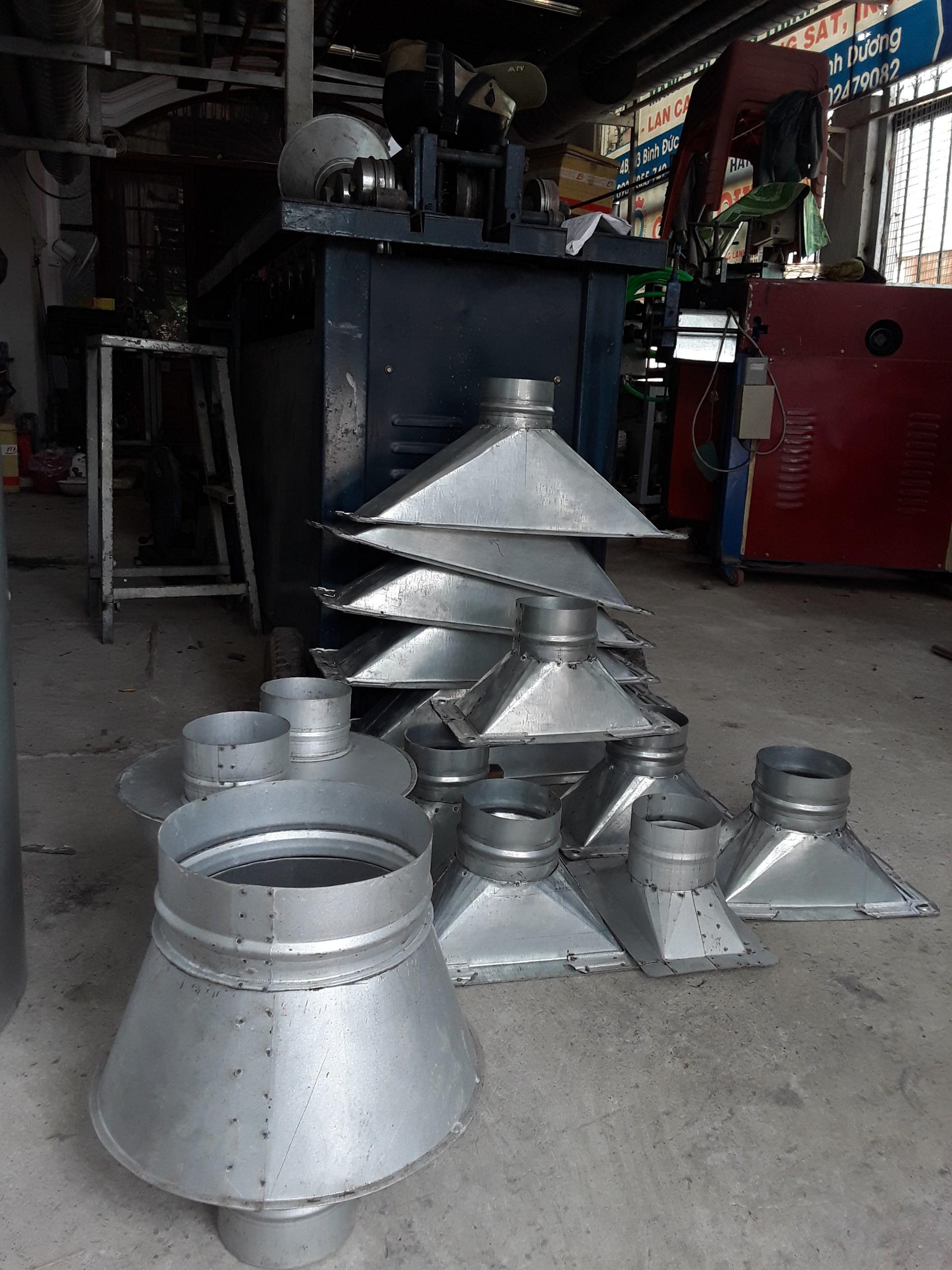 Gia công ống gió